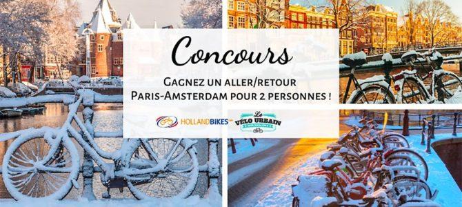 Gagnez un Aller/Retour Paris-Amsterdam pour 2 personnes en Thalys avec Le vélo urbain et Holland Bikes